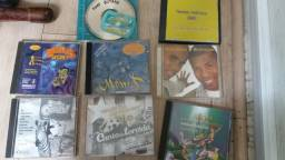 CDS e DVD antigos