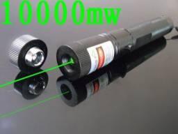 Super Caneta Laser Pointer Verde Original® Versão Plus De 15Km