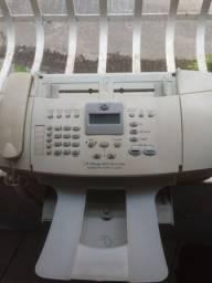 Aparelho de fax e impressora