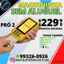Moderninha Pro 2 - PagSeguro (Pronta entrega)<br><br>