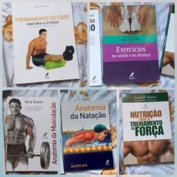 Livros voltados para o exercício físico novos