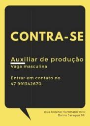 Título do anúncio: Vaga de auxiliar de produção Serraria