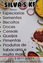 Castanha do Pará, temperos, especiarias e muito mais..