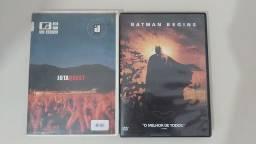 DVDS ORIGINAIS JOTA QUEST E BATMAN BEGINS