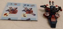 Aeronave Capitão América lego compatível
