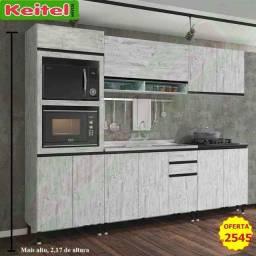 Título do anúncio: Cozinha Modulada Persa 5 Peças (Aéreo Fechado)