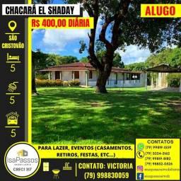 ALUGO BELISSÍMA CHACARÁ (EL SHADAY) em São Cristóvão (EXCELENTE PARA LAZER E EVENTOS)