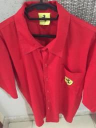 Camisa social Ferrari original Nova Promoção
