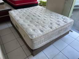 900 pra hj cama box queen size ORTOBOM HIGIENIZADA