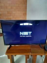 Tv Smart tela trincada