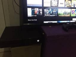 Xbox one FAT novo troco por celular ou vendo