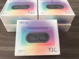 Fone Bluetooth QCY T1C - Novos, lacrados e com garantia!