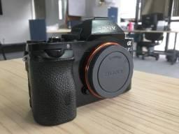 Câmera Sony A7S (mark I) com 3 baterias