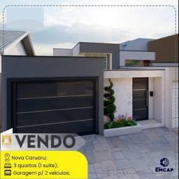 Vendo - Casa Nova Caruaru - 3 quartos