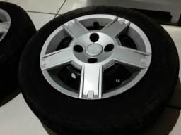 Vendo 4 rodas de ferro 14 ford