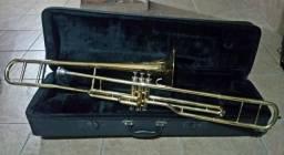 Trombone de Pistos - Longo - Sib