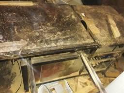 Esquadrejadeira lixadeira e furadeira de bancada