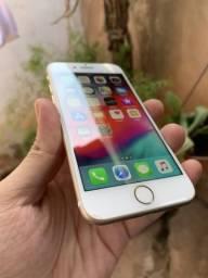IPhone 7 32GB Gold, Seminovo, Bem conservado, Funcionando 100%
