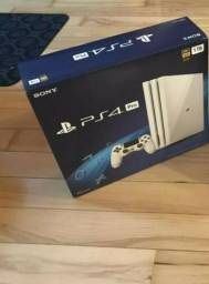PS4 Pro Branco Glacial Novo em folha lacrado na caixa nunca foi aberto