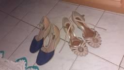 Sandálias usada
