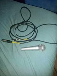 Microfone harmonics com Cabo Excelente!
