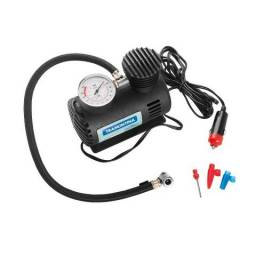 Compressor de ar novo para encher pneu de carro,bolas,colchoes e etc liga no cinzeiro