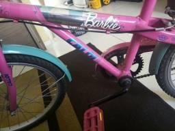 Bicicleta Barbie Caloi aro 20