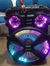 Caixa de som plataforma DJ