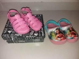 Lote de calçado infantil feminino da65492e4f0fa