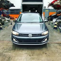 Sucata Volkswagen Polo 200 TSI 1.0 Turbo Automático 2018/2019