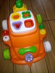Brinquedo didático entrego centro poa