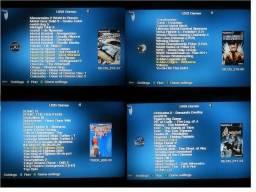 HD externo de 250 GB e 100 jogos de ps2