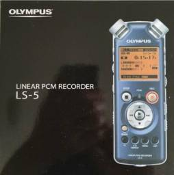 Gravador Olympus linear pcm recorder LS -5