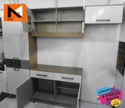 Kit Cozinha Compacta Briz 07 Portas E 02 Gavetas