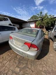Sucata para retirada de peças- Honda Civic 2008.
