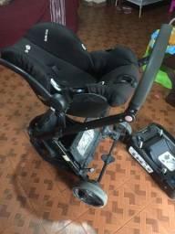 LEIA O ANÚNCIO! Carrinho + bebê conforto + base de carro SAFETY1Rst