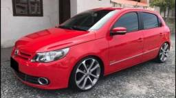 VW-Gol G5 Power 1.6 (Flex) 2010 Red