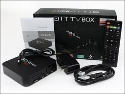 Tv box Resolução 4k-(Loja Wiki no Centro e Cohab)