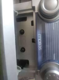 Vendo som da cce antigo funciona mais tem detalhes no volume e não tá tocando cd