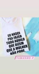 Combo de T-shirt Femininas