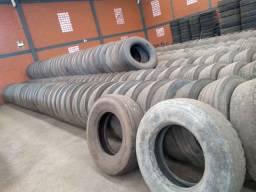 Lote de pneus usados 295 e 275