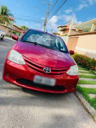 Vendo Carro Etios 2013/2013 1.5 XS Sedan Flex 4 P Manual!!