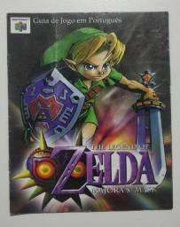 Guia Jogo Big Box The Legend Of Zelda Majoras Mask Português