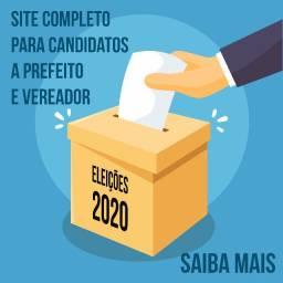 Eleições 2020 Prefeitos e Vereadores Sites Profissionais