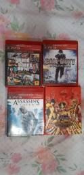Jogos para PS3, 14 unidades.
