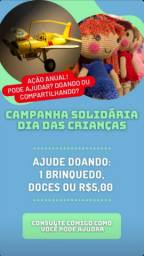 *Doação* Campanha solidária dia das crianças