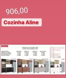 Cozinha Aline completa
