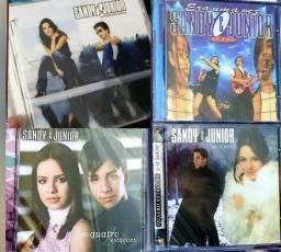 CDS Sandy e Junior Lacrados e usados de época em excelente estado