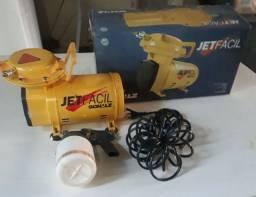 Compressor Ar Direto Jet Fácil + Kit + Pistola Schulz