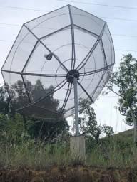 Antena Parabólica Completa.